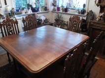Antique dining room set in Ramstein, Germany