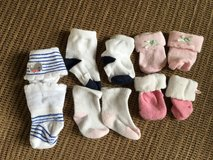 Baby girl socks 0-3 months in Dyess AFB, Texas