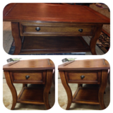 Ashley coffee table & 2 end tables (set only) in Fort Polk, Louisiana