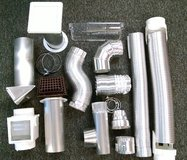 Bulk new Venting Air Vent Duct products ~ pipe elbows deflectors in Wheaton, Illinois