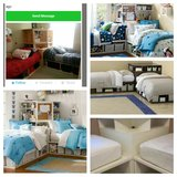 Pottery barn corner L shaped beds w/storage in Temecula, California