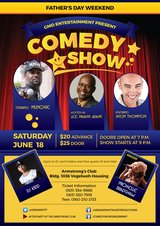 Father's Day Weekend Comedy Show in Baumholder, GE