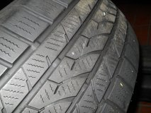 2 used tires 205/55R16 by Hankook for all-year-use in Baumholder, GE
