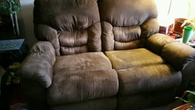 Double reclining love seat in Fort Lewis, Washington