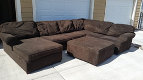 Large Brown Sectional in Colorado Springs, Colorado