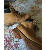 Timberland boots in Travis AFB, California