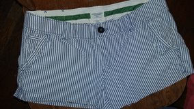 American Eagle Blue and White stripe shorts in Dickson, Tennessee