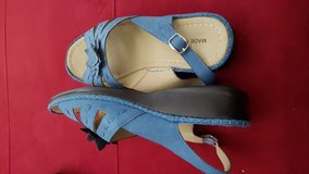 Blue Sandals in Pasadena, Texas