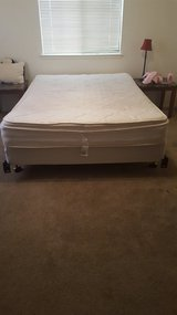 Queen mattress+box spring FIRM PRICE. WILL NOT HOLD in Fort Irwin, California