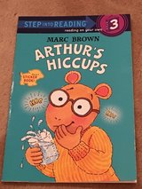 NEW Arthur's Hiccups Sticker Book in Okinawa, Japan