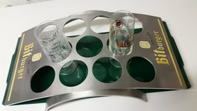 bitburger tray/glass holder in Ramstein, Germany