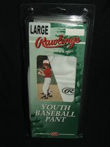 Rawlings Youth Baseball Pant White NEW Assorted Quantities in Chicago, Illinois
