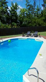 Brick house with pool by owner in Camp Lejeune, North Carolina