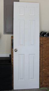 White Door in Beaufort, South Carolina