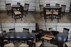 7 Piece Counter Height Wood Dining Set in Algonquin, Illinois