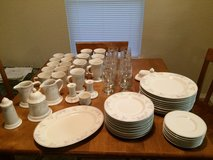 Dish Set in Lackland AFB, Texas