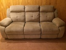 Tan Couch in Lackland AFB, Texas