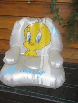 Kids Tweety blow up chair in Ramstein, Germany