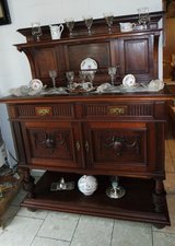 elegant walnut credenza ... over 100 years old in Ansbach, Germany