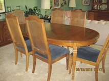 Extra-long Dining Room Table & 6 Chairs in Tinley Park, Illinois