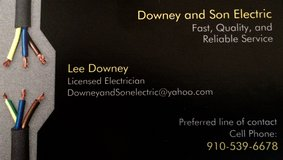 Downey and Son Electric in Camp Lejeune, North Carolina