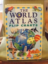 Homeschool! World Atlas Flip Charts! in Camp Lejeune, North Carolina