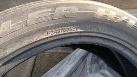 4 Bridgestone tires P245/50R20 in Fort Campbell, Kentucky