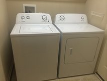 washer and dryer ,very good condition in Kansas City, Missouri