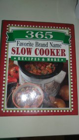 365 favorite brand name slow cooker recipes and more in Clarksville, Tennessee