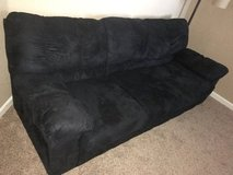 Black Microfiber Couch in Bolling AFB, DC
