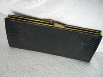 black vintage clutch crocodile leather in Ramstein, Germany