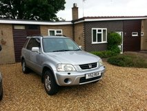 2001 Honda 4x4 CRV - Executive in Lakenheath, UK