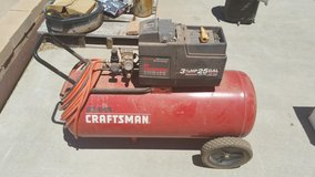 3.5HP 25Gal Craftsman Air Comperssor in Alamogordo, New Mexico