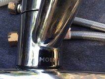 Moen kitchen faucet with sprayer in Beaufort, South Carolina