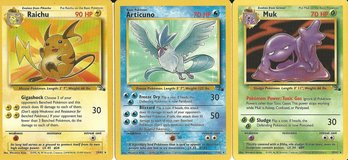 Pokemon Cards-Fossil Generation I in Perry, Georgia