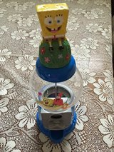SpongeBob SquarePants Gumball Machine in Kankakee, Illinois
