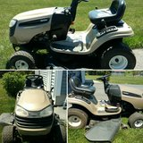 Lawn mower in Fort Drum, New York