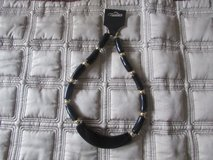 Black and Gold Necklace in Naperville, Illinois