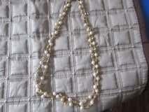 Gold and White Two Tier Necklace in Naperville, Illinois