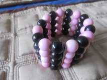 Pink and Black Bracelet in Naperville, Illinois