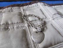 Silver With a single Heart Bracelet in Aurora, Illinois