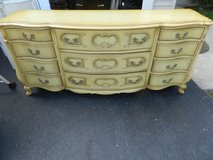 Vintage 11 drawer French Provincial Dresser in Batavia, Illinois