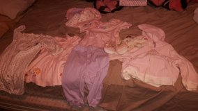 Baby girl clothes and hats. in Fort Polk, Louisiana
