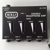 ROLLS ha43-pro-stereo-headphone-amp in Oceanside, California