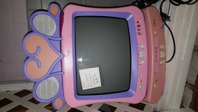 Girls Disney TV and DVD player combo in Fort Benning, Georgia
