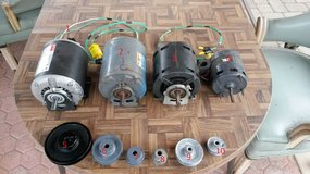 Electric Motors,Pulleys for SALE !!! in Vista, California