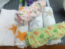 A+A swaddle blankets and velcro swaddles in Okinawa, Japan