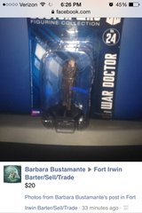 Dr Who Collectible.. War Doctor in Fort Irwin, California