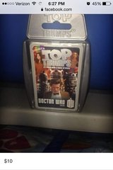Dr. Who Topp Trump cards in Fort Irwin, California