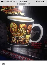 Street Fighter mug in Barstow, California